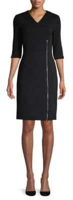 BOSS Deazema Jersey Twill Dress