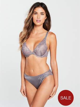 Wonderbra Refined Glamour Triangle Bra - Grey