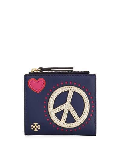 Tory BurchTory Burch Peace & Love Mini Wallet