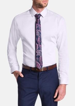 TAROCASH Cyrus Slim Textured Dress Shirt