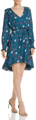 Joie Marlayne Floral-Print High/Low Dress