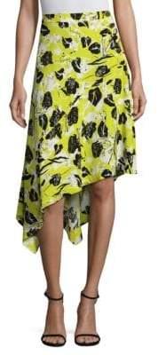 Derek Lam Asymmetrical Midi Skirt
