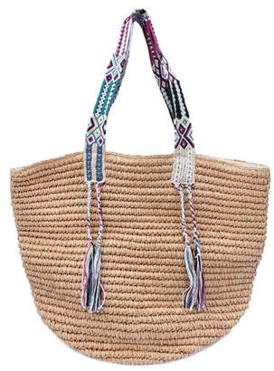 Mark And Graham Gemma Straw Tote