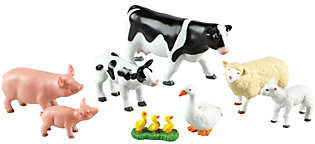 Learning Resources Jumbo Farm Animals, Mommas and Babies