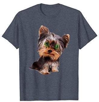 Big Headed Yorkie Terrier Dog shirt