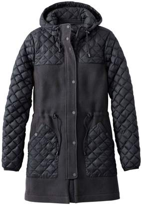 L.L. Bean L.L.Bean Hybrid Wool Coat, Misses