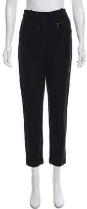 Hermes Wool High-Rise Pants