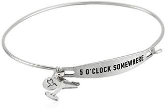 Chamilia 5 O'clock Somewhere Medium/Large Bangle Bracelet