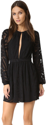 Mara Hoffman Burnout Mini Dress $385 thestylecure.com