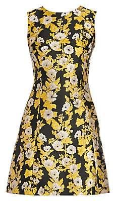 Dolce & Gabbana Women's Floral Jacquard Cocktail Dress