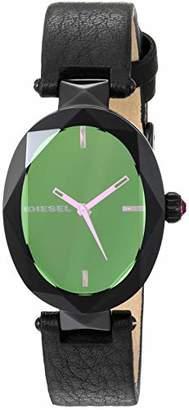 Diesel Women's 'Julez' Quartz Stainless Steel and Leather Watch