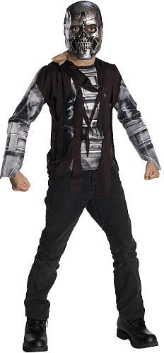 Terminator Salvation Terminator T600 Halloween Costume - Child Size Large 12-14