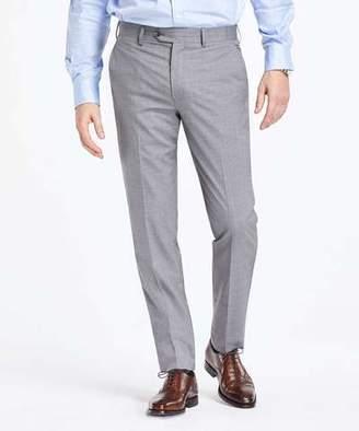 Todd Snyder Sutton Fit Grey Cotton Microstripe Suit Pant