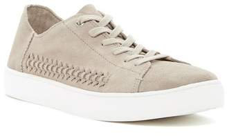 Toms Lenox Woven Tan Suede Lace-Up Sneaker