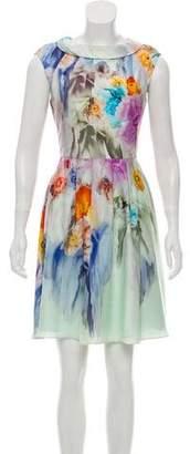 Ted Baker Sleeveless Floral Dress