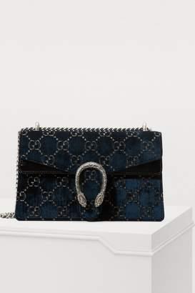a86b1b6885d Gucci Dionysus GG velvet MM crossbody bag