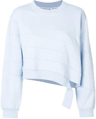 Each X Other ripped asymmetric sweatshirt