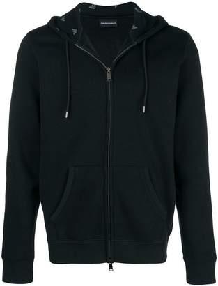 Emporio Armani basic hooded jacket