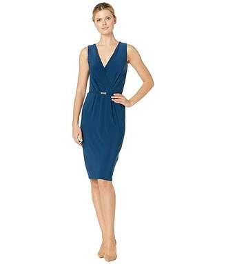 Lauren Ralph Lauren Matte Jersey Lazia Sleeveless Day Dress