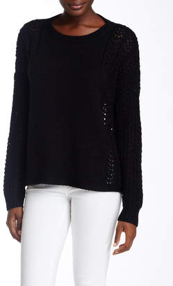 360 Cashmere Open Knit Sweater $287.50 thestylecure.com