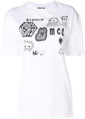 McQ front printed T-shirt