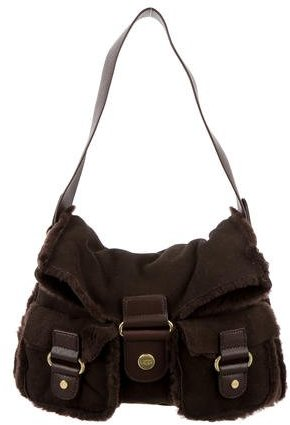 UGGUGG Australia Shearling-Trim Shoulder Bag