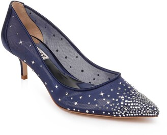 Badgley Mischka Collection Felicity Crystal Embellished Pump