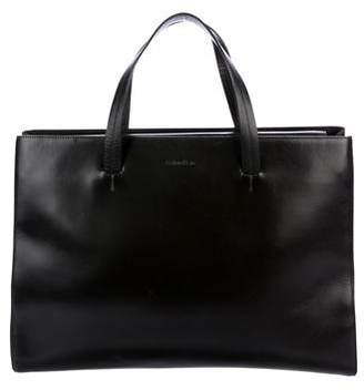 Calvin Klein Leather Handle Bag