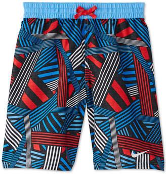 Nike Big Boys Printed Volley Shorts Swim Trunks