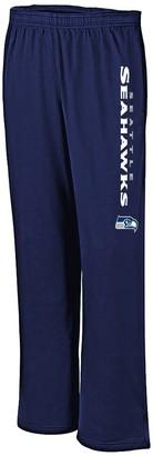 Majestic Women's College Navy Seattle Seahawks Plus Size Jersey Sweatpants