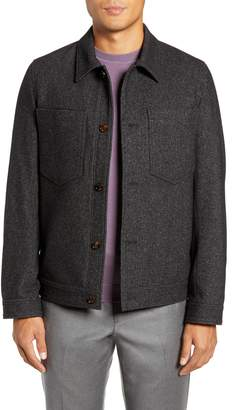 Ted Baker Rarebit Slim Fit Shirt Jacket
