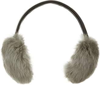 Yves Salomon Rabbit Fur Ear Muffs