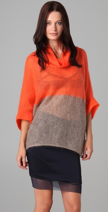 Vpl Colorblocked Turtleneck Sweater