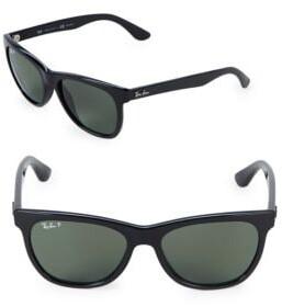 Ray-Ban Logo Wayfarer Sunglasses