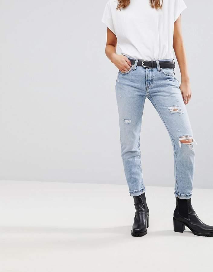 Levis – 501 – Schmal zulaufende Jeans