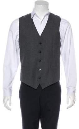 Dolce & Gabbana Virgin Wool & Cashmere Suit Vest
