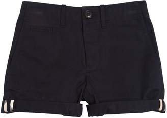 Burberry Cotton Gabardine Shorts