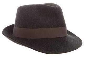 Loro Piana Fur Felt Fedora Hat