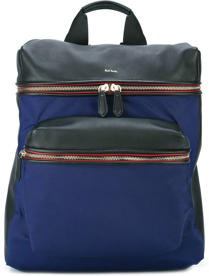 Paul SmithPaul Smith Jeans front pocket structured backpack
