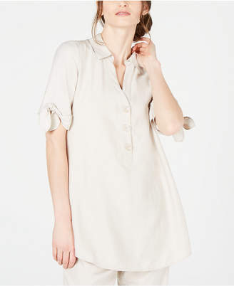 Alfani Tie-Sleeve Tunic