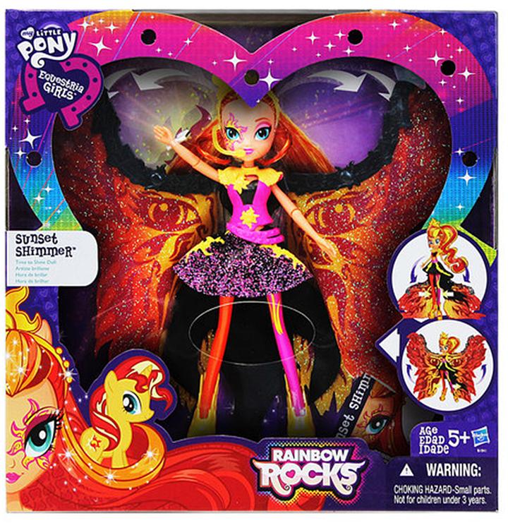 11'' My Little Pony Equestria Girls Sunset Shimmer Doll