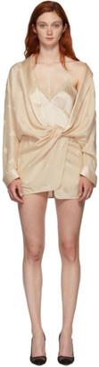Alexander Wang Pink Draped Pyjama Jumpsuit