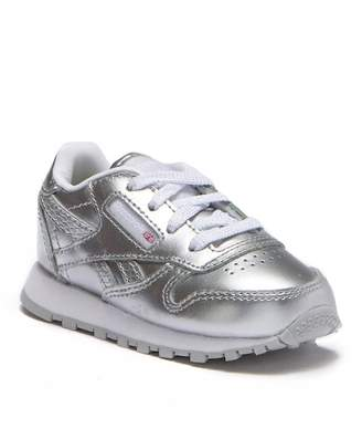 Reebok Classic Leather Metallic Sneaker (Baby & Toddler)