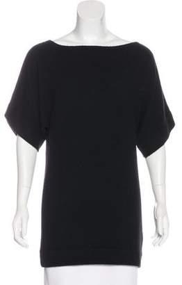 Tory Burch Cashmere Short Sleeve Tunic