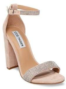 Steve Madden Carrson Suede Studded Strappy Sandals