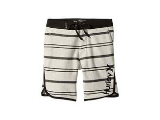 Hurley Striped Hangout Walkshorts (Big Kids)