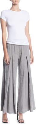 XCVI Basil Wide-Leg Linen Pants