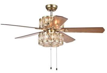 Bed Bath & Beyond Gasper 52-Inch 4-Light Ceiling Fan in Silver