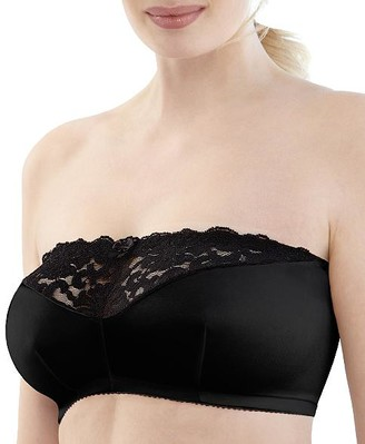 Glamorise Complete Comfort Stay-In-Place Strapless Wire-Free Bra