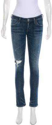 A Gold E AGOLDE Low-Rise Skinny Jeans